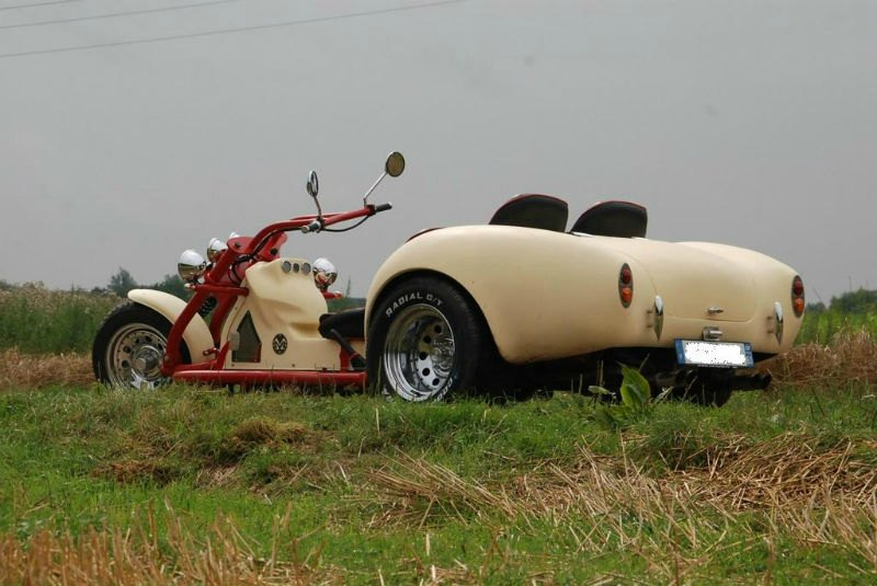 Trike france, trike construit en France par JLM Concept Cars